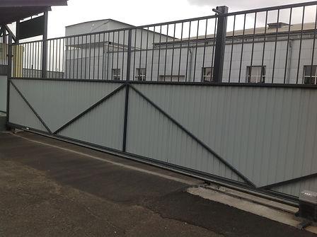 откатные ворота раздвижные красноярск установка монтаж изготовление