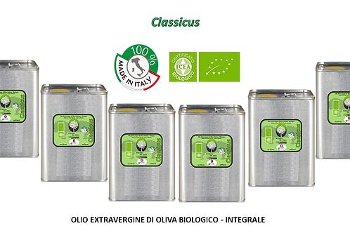 Offerta famiglia Conf. da 6 lattine da 3 litri - CLASSICUS BIO Integrale