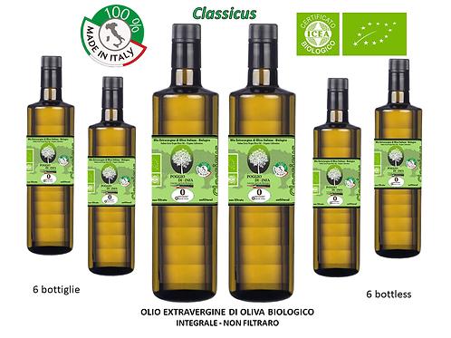Maxi  Conf. da 6 bottiglie - CLASSICUS BIO Integrale 0,75 l.