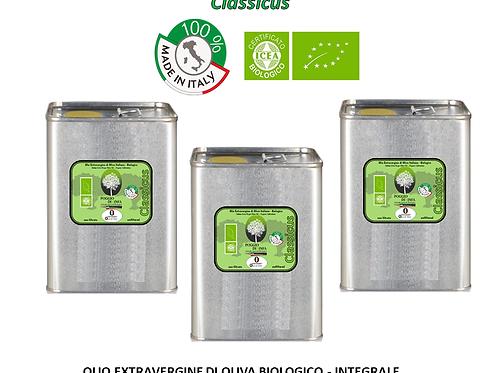 Conf. da 3 lattine da 3 litri - CLASSICUS BIO Integrale