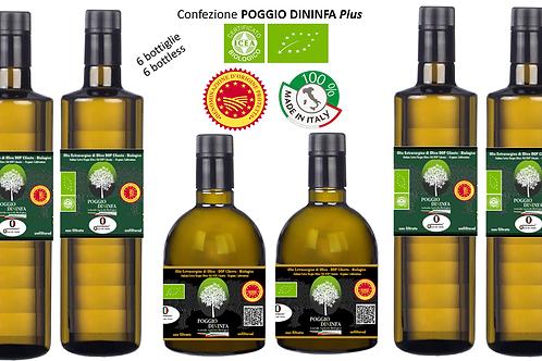 Conf. POGGIO DININFA Plus - 2 Aurum BIO DOP 0,50 + 4 Classicus BIO DOP 0,75l.