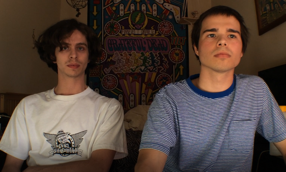 Cody Hudgins and Dylan Taylor are two out of five people who live at The Womb.
