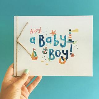 Ahoy, a baby boy! #clintonsretail.jpg