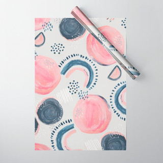 abstract-spots-and-lines-wrapping-paper.