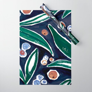 fall-leaves-terracotta-navy-and-green-wr