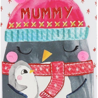 Mummy penguin was featured on print and