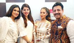 Rina Dhaka (Fashion Designer), Palka Grover (Luxury President), Raima Sen (Actress) & Gaurav Grover (Founder & Chairman)