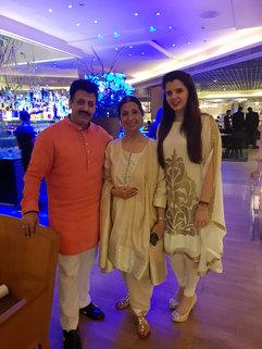 Gaurav Grover (Founder & Chairman), Leena Singh (Fashion Designer), & Palka Grover (Luxury President)