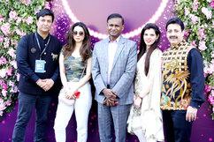 Anupam Parashar, Soundarya Sharma (Actress), Udit Raj (Ex - MP), Palka Grover (Luxury President) & Gaurav Grover (Founder & Chairman)