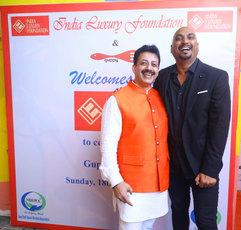 Gaurav Grover (Founder & Chairman) & Samant Chauhan (Fashion Designer)