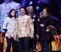 .Rina Dhaka (Fashion Designer), Gaurav Grover (Founder & Chairman), Samant Chauhan (Fashion Designer) & Charu Parashar (Fashion Designer)