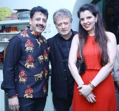 Gaurav Grover (Founder & Chairman), Rohit Bal (Fashion Designer) & Palka Grover (Luxury President)