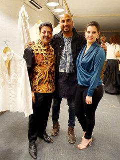 Gaurav Grover (Founder & Chairman), Samant Chauhan (Fashion Designer) & Palka Grover (Luxury President)