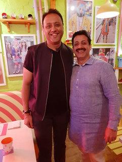Varun Bahl (Fashion Designer) & Gaurav Grover (Founder & Chairman)