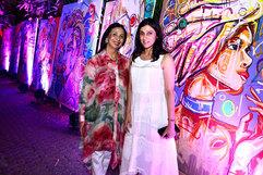 . Leena Singh (Fashion Designer) & Rina Dhaka (Fashion Designer)