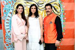 Palka Grover (Luxury President), Rina Dhaka (Fashion Designer) & Gaurav Grover (Founder & Chairman)