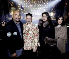 Samant Chauhan (Fashion Designer), Gaurav Grover (Founder & Chairman), Charu Parashar (Fashion Designer) & Rina Dhaka (Fashion Designer)