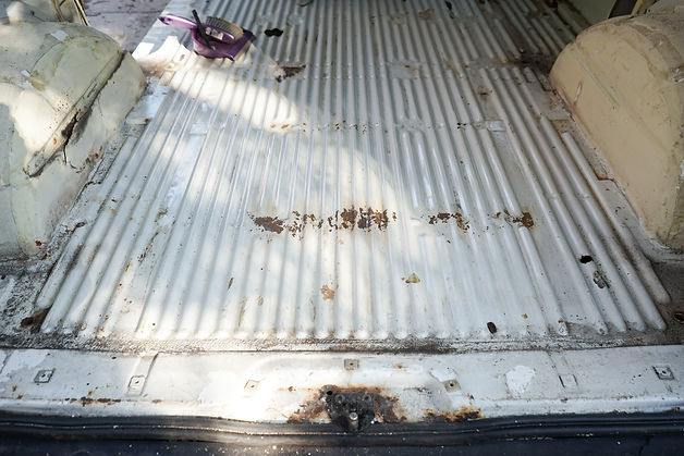 Which rust / corrosion treatment for surface rust? - VW T4