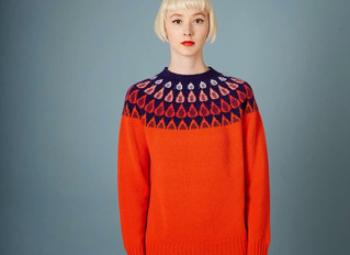 Donna Wilson brightens up winter with her glorious new knitwear