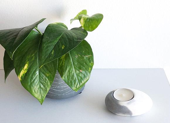 Oval Tea Light Candle