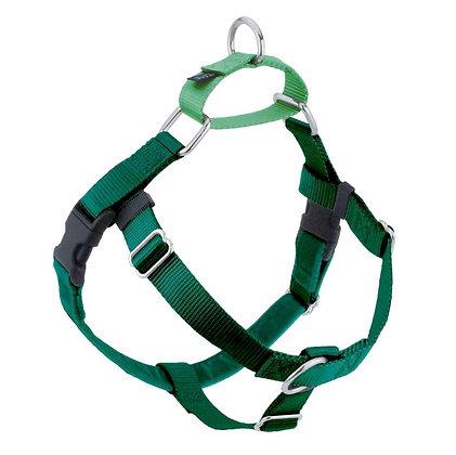 Freedom Harness & Leash: Green