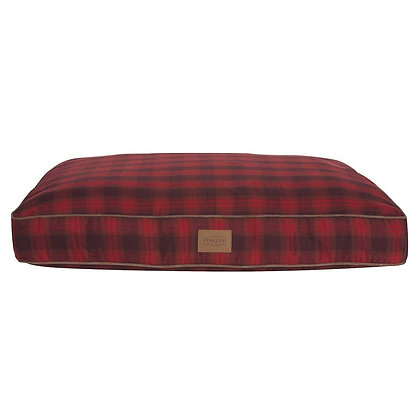 Red Ombre Plaid Napper