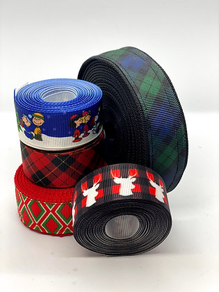 "1 "" Custom Martingale Collar: Holiday"