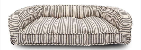 Striped Lounger Bed