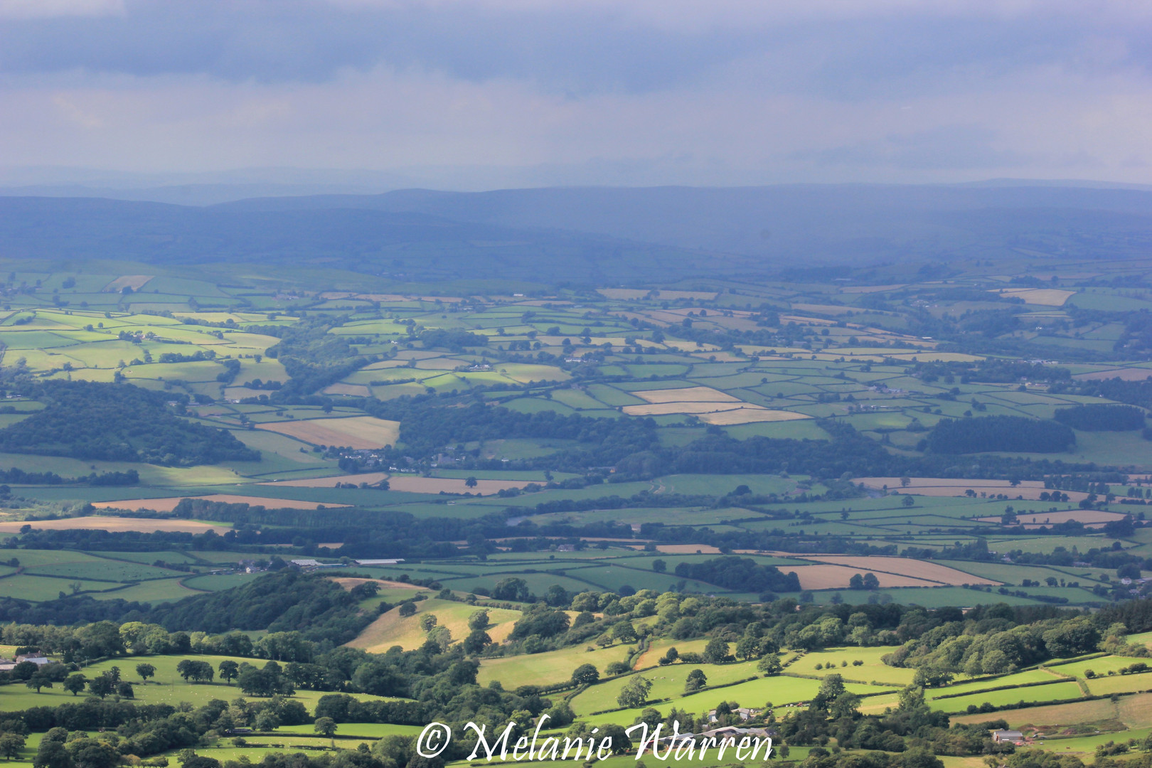 View from Offa's Dyke 1