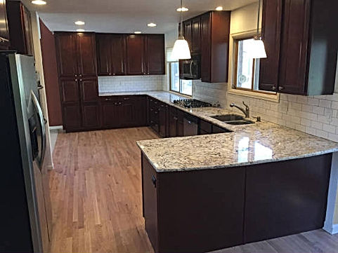 general contractor, construction company, construction companies, kitchen remodel, beautiful kitchen, centennial