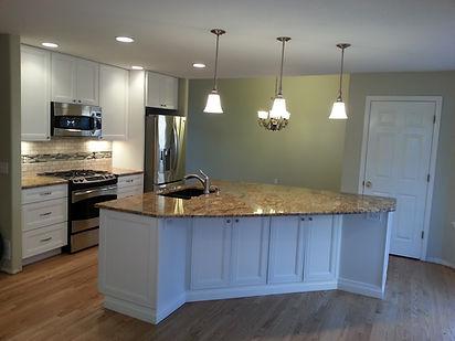 General contractor kitchen remodel Littleton with granite counertops