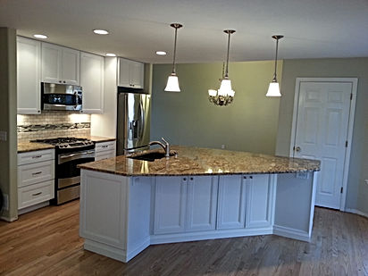 General contractor kitchen remodel Littleton with granite counertops