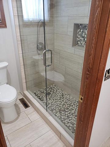 Shower remodel in Roxborough