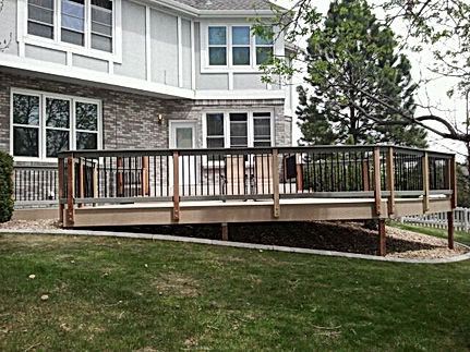 general contractor, construction company, construction companies, deck replacement company, beautiful deck, lone tree, roxborough