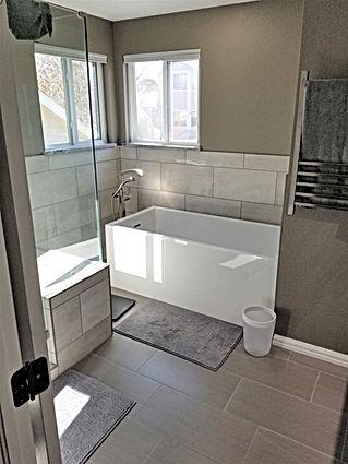 Master bath remodel Lopez