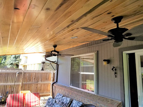 Porch cover, deck remodel, deck remodeling, remodeling contractor, contractor, deck remodeling