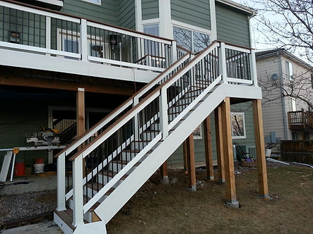 home improvement company, remodeling contractor, deck replacement company, beautiful decks, highlands ranch, centennial