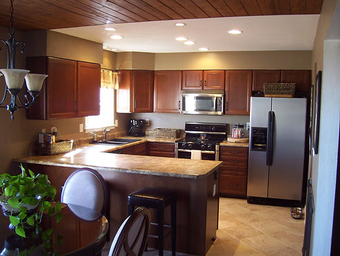 General contractor home improvement contractor kitchen remodel in Roxborough