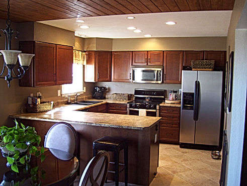 General contractor home improvement contractor kitchen remodel in Roxborough