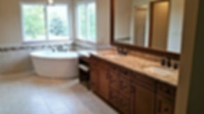 general contractor, construction company, bathroom remodeling company, bathroom remodel, highlands ranch, castle pines