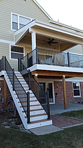 general contractor, remodeling company, deck replacement company, porch cover, porch cover replacement, centennial, highlands ranch