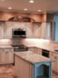 General contractor, home improvement company, kitchen before and after, highlands ranch