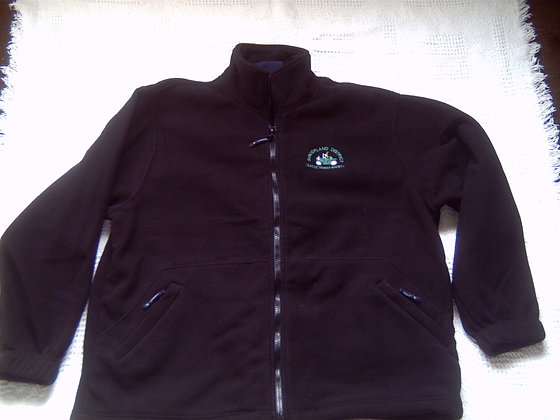 Fleece Jacket with SDCVS logo