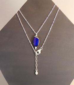 Collier bleu B