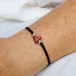 Bracelet céramique rouge : 25€