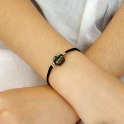 Bracelet céramique vert : 25€