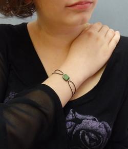 Bracelet céramique vert : 20€