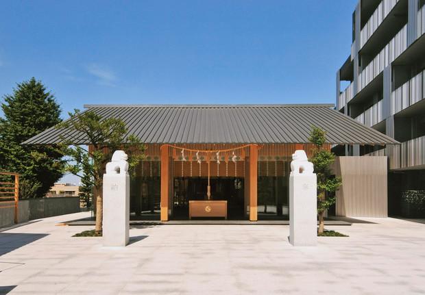 東京 神楽坂:赤城神社内装工事
