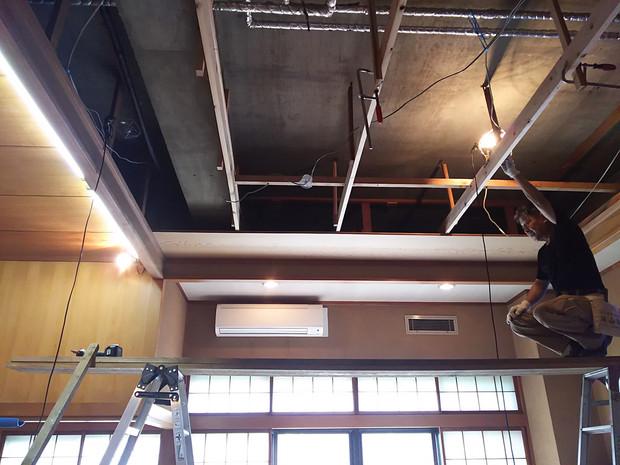 東京 浅草橋:日本舞踊稽古場修復工事