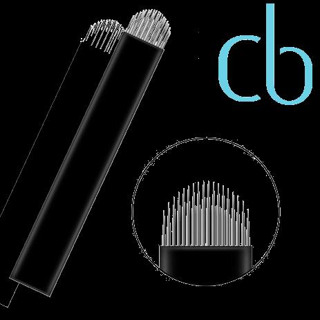 Lâminas Tebori - Nano Blades LovBeauty 18U Flex
